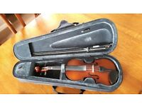 Primavera 1/2 size violin, excellent condition