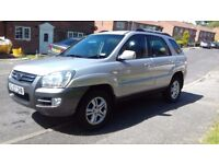 Kia Sportage, 2.0 CRDi,4WD, 6 speed gear box, winter tyres fitted