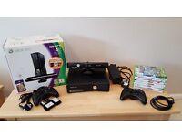 Microsoft Xbox 360 4GB + Kinect & Games
