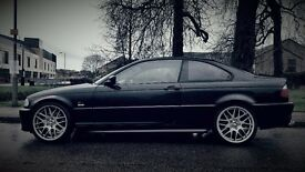 BMW E46 330CI MSPORT - BLACK WITH RED LEATHER - GREAT CONDITION