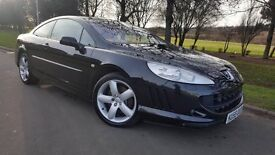 Peugeot 407 2.7 HDi V6 GT 2dr 1 OWNER,LOW MILEAGE,BLUETOOTH,P/SENSORS
