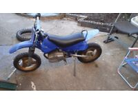 50cc traka kids bike
