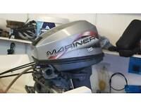 Mariner 15hp long shaft outboard with steering