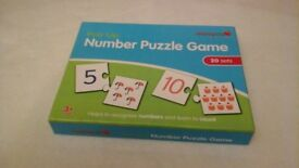 Childs Number Puzzle game