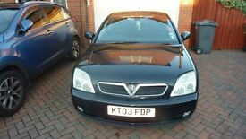 Vauxhall Vectra Elegance 2003 Black Only 66,000 Miles