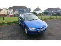 Peugeot 106 1.1 Independance 2002 SPARES OR REPAIRS (MOT JAN19)