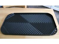LARGE DOUBLE SIDED NON STICK GRIDDLE