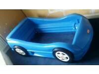 Boys car bed