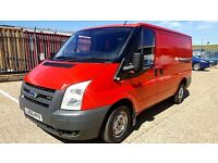 Finance - £96 per Month - FORD TRANSIT 2.2cc 85 FWD 260 Van - One Owner - FSH - 1Year MOT - 280-300