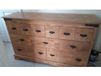 Light oak merchants chest