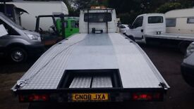 24/7 van Tow services 7.5 ton Tow truck vans and carsrecovery auction cars,transport vehicle