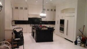 Custom made kitchen ,closet,vanities and all wood works