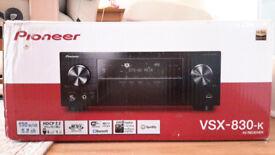 as good as new Pioneer VSX-830-K Receiver