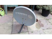 Cyfrowy Polsat satellite dish receiver