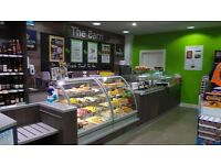 Manager For 'The Barn' Food To Go Counter within our busy retail store.