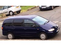 VW Sharan 1.9 TDI 2000 large 7 Seater very reliable