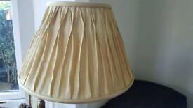 Laura Ashley Fenn Lamp Shade in gold colour