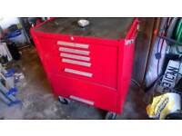 Taskmaster 5 drawer metal storage cabinet.