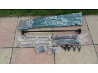 cheap carp fishing 3 rod pod with bobbins and butt rests ideal school holiday distraction