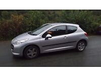 Peugeot 207 1.4 sport Silver 11 months MOT low tax and insurance