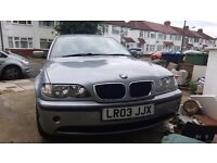 BMW 3 series only 55000 mileage, 1 previous owner