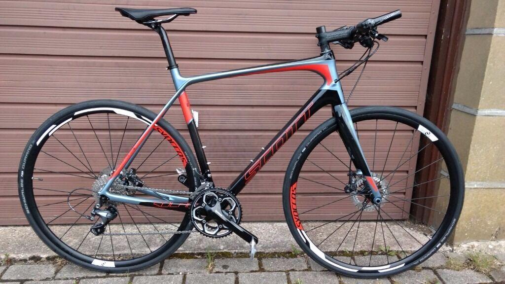 Scott Solace 15 Carbon Road Bike, Flat Bar, PRICE DROP ...