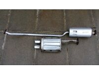 Honda Civic Type R Exhaust EP3 - mid and rear section cat back decat