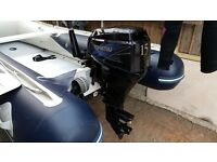 Tohatsu 15hp 4stroke 2011 short shaft outboard
