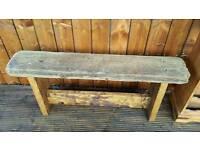 Drift Wood Bench