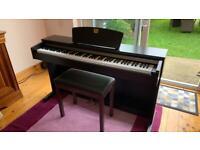 Yamaha Clavinova CLP 320 digital piano and stool