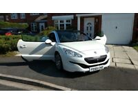 peugeot rcz white,immaculate condition.1.6thp sport 2 door coupe