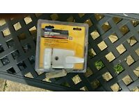 Front door high security latch white