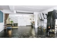 photography studio hire (also for meetings, events etc) - East London.. 900sq ft. fully equipped