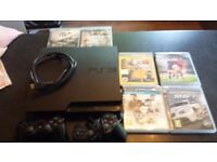 Ps3 160gb & games