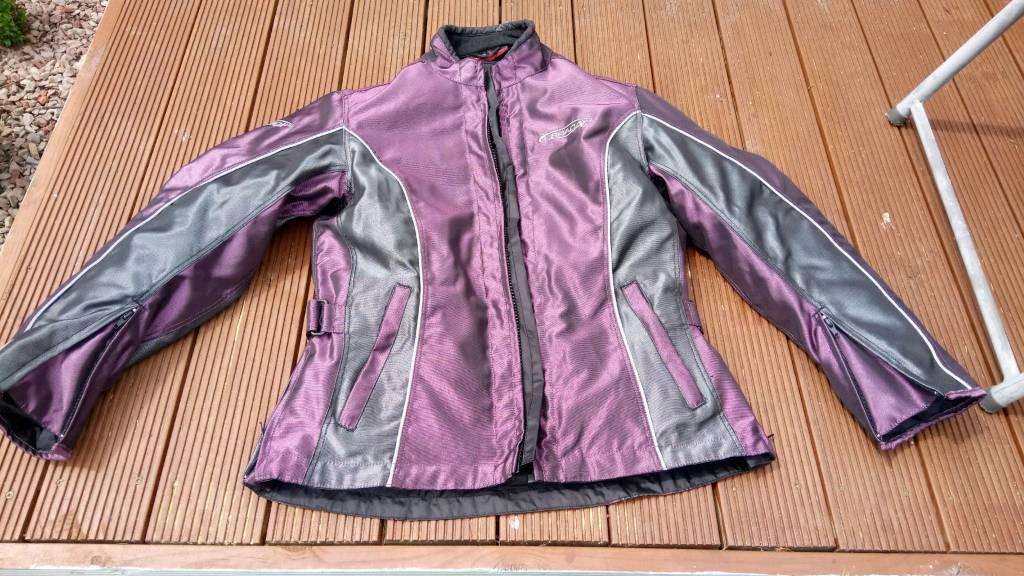 Women's winter motorcycle jacket coat ex con
