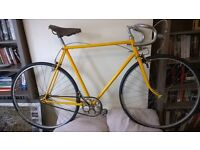 Vintage single speed fixed gear 531 road bike 1940 1950 bicycle