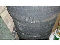 4 winter bridgestone tyres 205/50/R16
