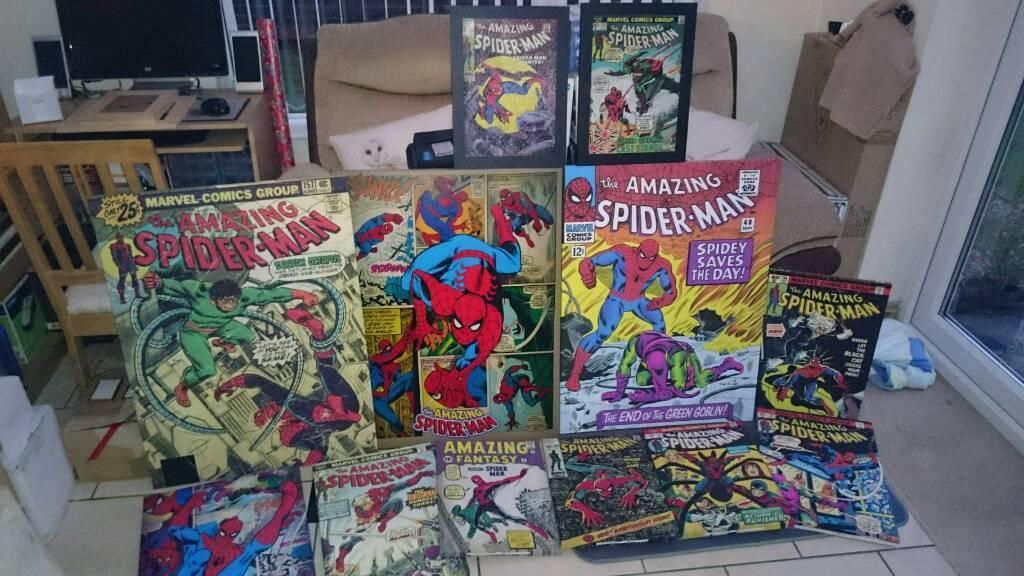 12 Spiderman Canvas Prints