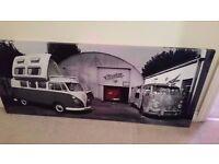 vw camper canvas