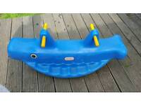 Little Times Whale Teeter Totter Seasaw