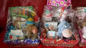 Large boy and girl hamper basket gift