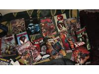 Various Marvel graphic novels