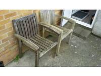 Quality garden chairs