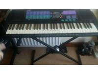Keyboard and stand for sale