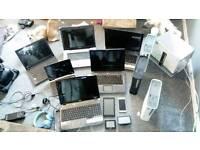 Job lot laptop's etc