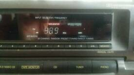TECHNICS SA-GX290 5.1ch AV Control Stereo Receiver Amplifier AM/FM Home Theater 2002 DOLBY Pro-Logic