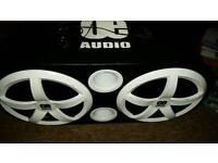OE Sub X2 12 inch speakers built in Amp 3000 Watt