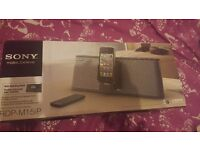 Sony personal audio docking system