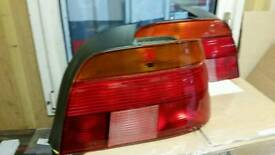 Rear lights 1996 bmw e39
