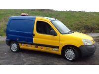 Peugeot partner 1.4 gas converted quicksale £500 swapz welcome